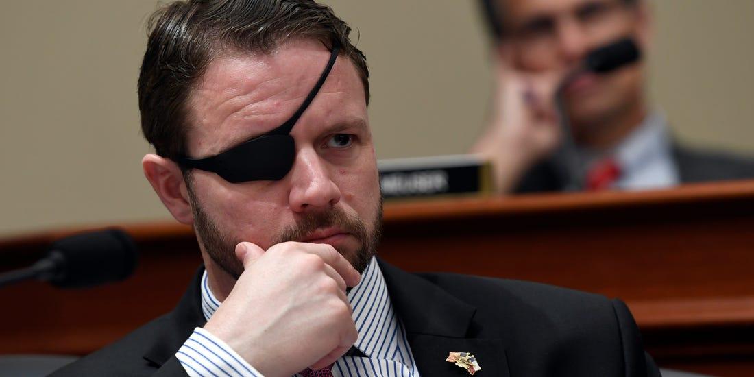 元SEALs隊員の隻眼の下院議員がビッグボスみたいでかっこよすぎると話題に
