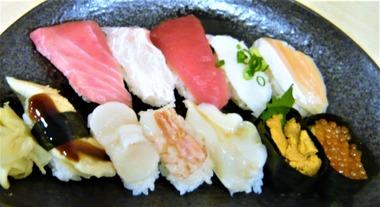 京樽 にぎり寿司