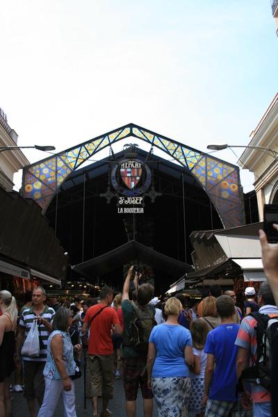 スペインの旅(3) バルセロナ サン・ジョセップ市場
