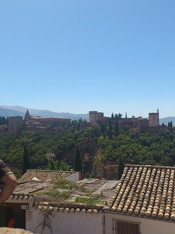 スペイン グラナダと白い村