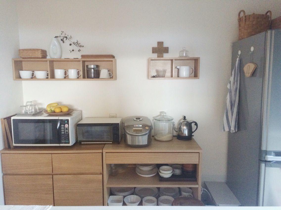 【我が家のキッチン*背面収納について】