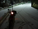 14雪の夜景@現場の状況
