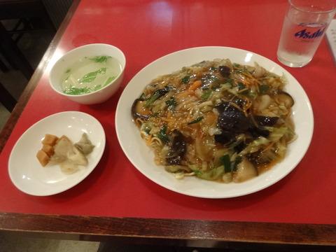 五目野菜ヤキソバ@栄来軒