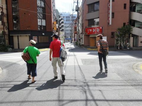 錦糸町駅南口をスタート