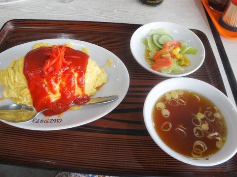 オムライス@みずの中華料理店