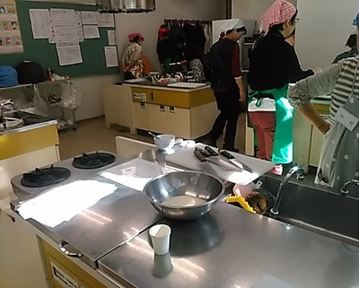 調理室の様子2