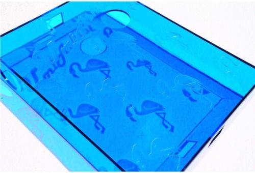 フラミンゴ青