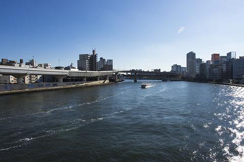隅田川川面