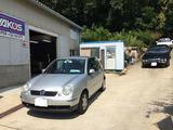 VW 車検 PAC-P施工。(神戸)