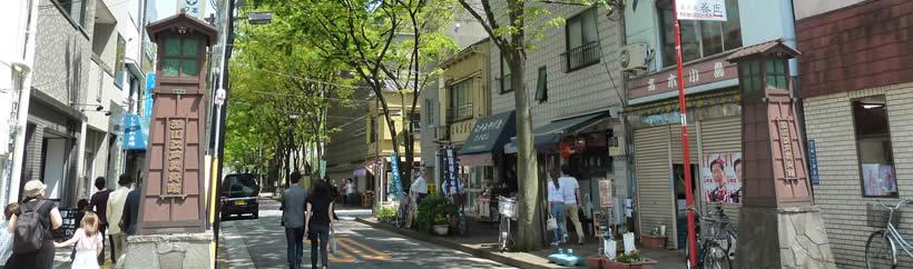 街とねこの本屋さん_深川江戸資料館の前の通り