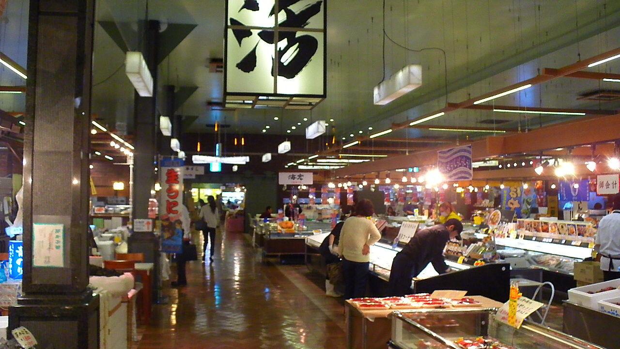仙台場外市場・杜の市場【渡憲/たまご舎】