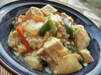 グルテンバーガーの麻婆豆腐