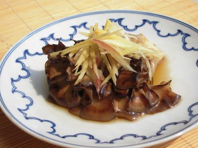 焼き舞茸のピリッと醤油マリネ