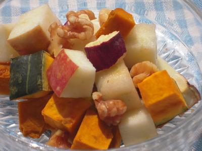 かぼちゃとさつま林檎のキャラメルシナモン風味
