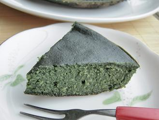よもぎと生姜の簡単おからケーキ