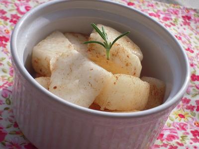 梨と長いものスイートバルサミコ風味