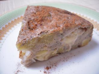 林檎とさつま芋のパンケーキ
