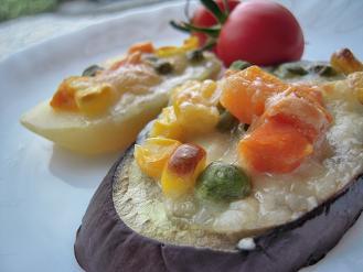ミックスベジタブルの野菜ピザ