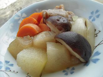 冬瓜de肉じゃが風柚子胡椒風味