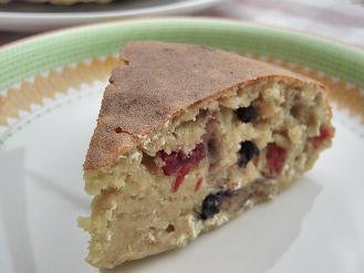 ベリーベリージンジャーケーキ