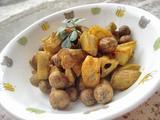むかごのカレーバルサミコ風味2