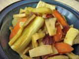 焼き葱の梅カレー煮2