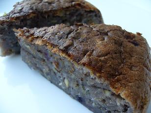 ブルーベリーとくるみの豆腐パンケーキ2