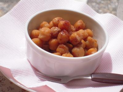 ひよこ豆のジンジャーカカオ風味