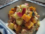 納豆のピリッと南瓜芋和え2