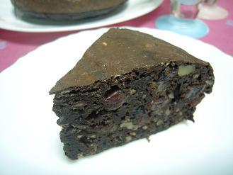 バレンタインのビターケーキ