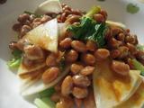 かぶと納豆のカレーポン酢和え2