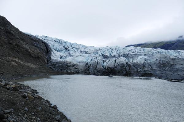 7黒い氷河