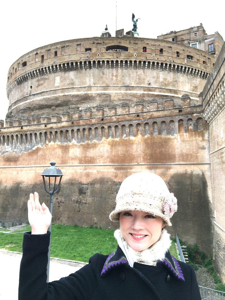 サンタンジェロ城のマダム