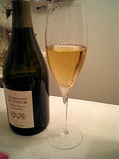2009年結婚記念日シャンパン その2