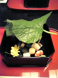 強羅花壇の会席