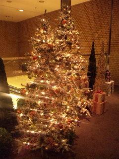 ハイアットクリスマスツリー小