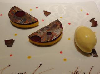 結婚記念日20周年 トロワグロ Dessert