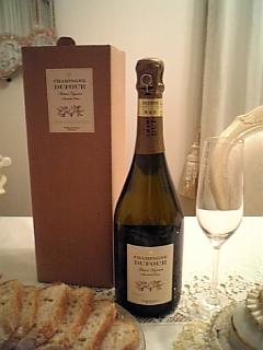 2009年結婚記念日シャンパン その1