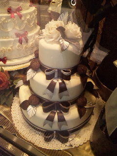 イタリアのキレイなケーキ
