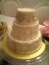 オードリーをイメージしたケーキ