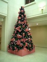 ピンクのツリー