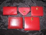 red wallets
