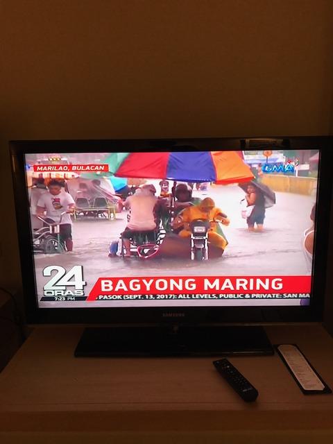 洪水テレビ