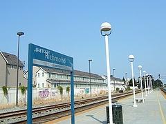 アムトラックのリッチモンド駅