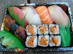 North ShattuckのKIRARAの寿司