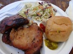 chicken plate $8