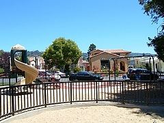 AlbanyMemorialParkのちびっ子公園