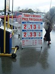 ガソリン価格@Costco2009 1