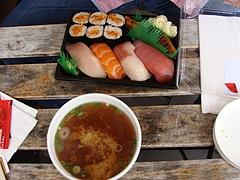 Kirala2の寿司、スパイシーツナロール美味