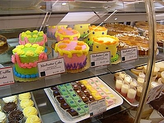 ケーキの色。。。